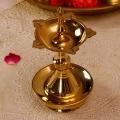Udipi Deep (Small) : Brass Oil Lamp