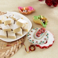 Badam Barfi and Dia Combo