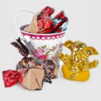 Ganesha Idol with Truffle Chocolates Bucket