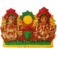 Traditional Laxmi Ganesh