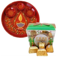 Chocolaty Bites Surprise : Diwali Thali Hampers