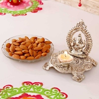 Lord Ganesha with Almonds