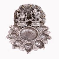 A Laxmi Ganesha 7 Batti Diya